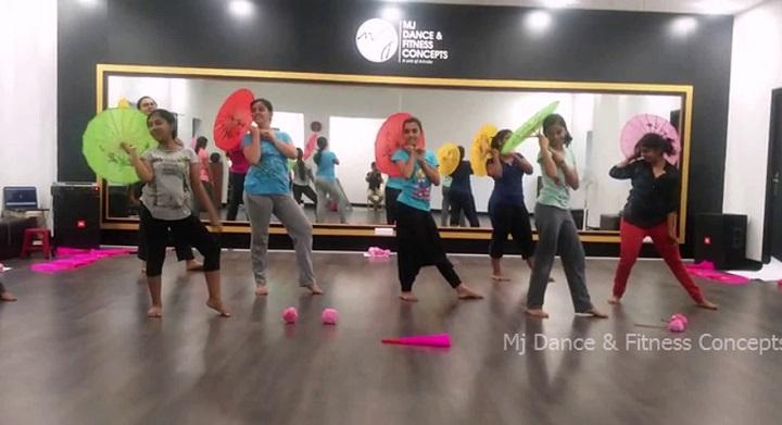 MJ dance fitness: zumba classes in chennai