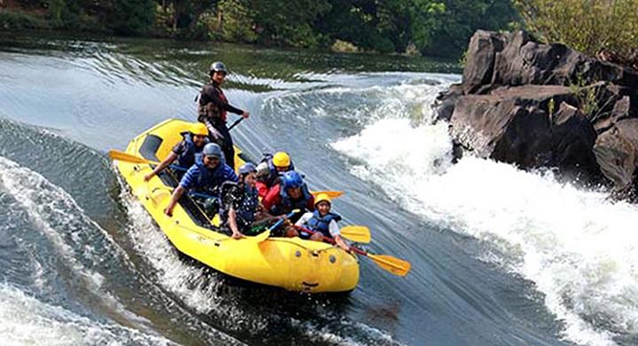 River Rafting kolad: adventure places in mumbai