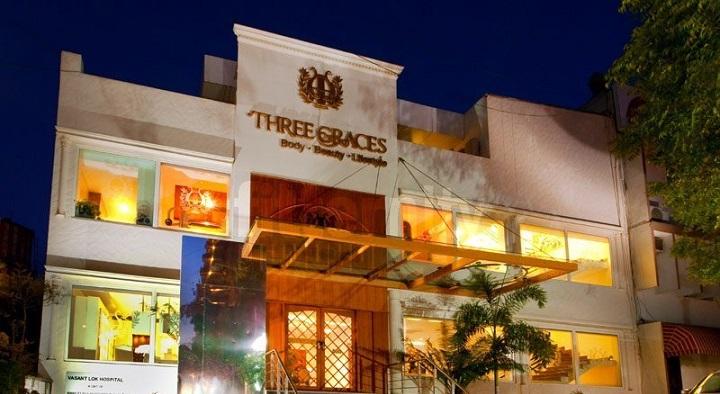 Three Graces: best gym in delhi