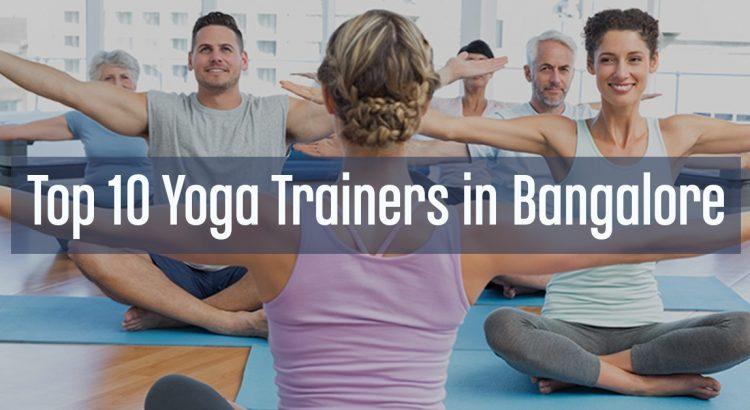 yoga trainers in Bangalore