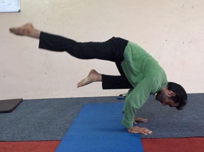 gajender: yoga trainers in delhi