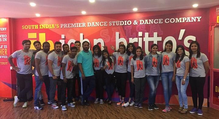 john britto dance school: zumba classes in chennai