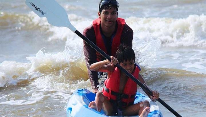kayaking mandwa: adventure sports in mumbai