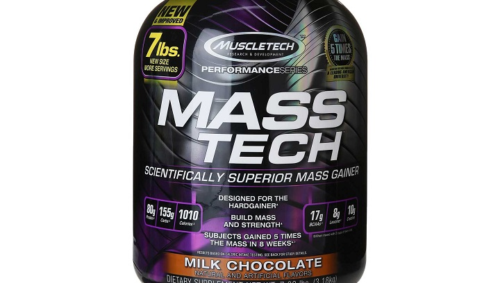 MuscleTech Mass gainer in india