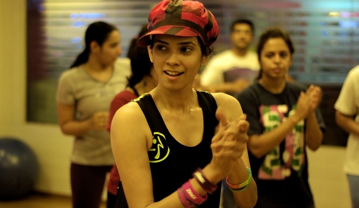zumba classes in Pune with shweta kulkarni