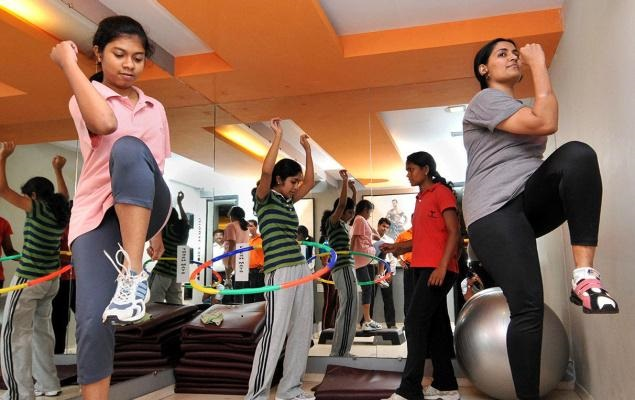 talwalkers: zumba classes in chennai