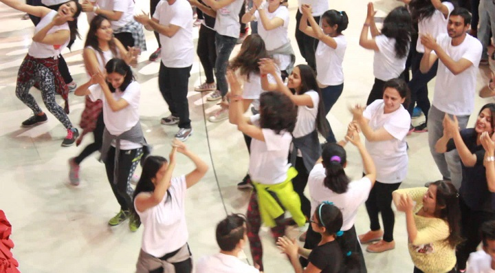 the room: zumba classes in Pune