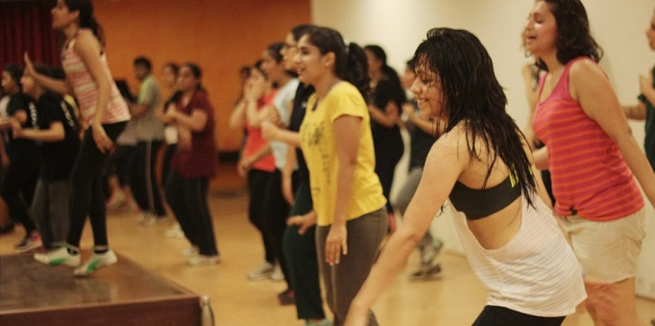 zumba benefits: Zumba class in bangalore